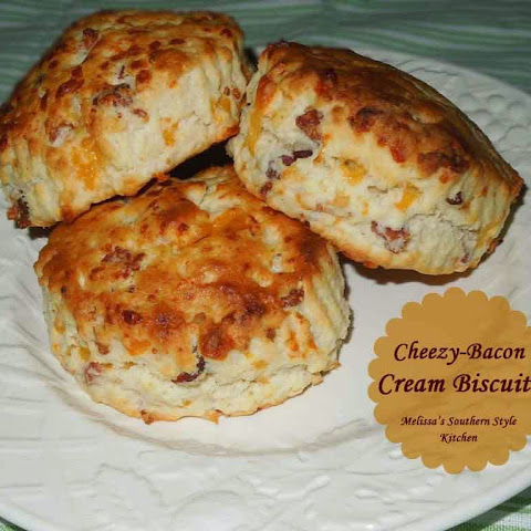 Cheezy-Bacon Cream Biscuits