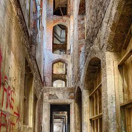 Asylum by Richard Ashton - Buildings & Architecture Decaying & Abandoned