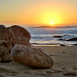 Sunrise, Scottburgh, South Africa by Talita Schoeman - Landscapes Beaches ( noordhoek, south africa, noordhoekchallenge )