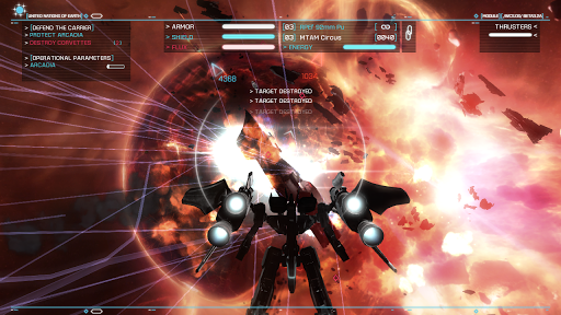 Strike Suit Zero - screenshot