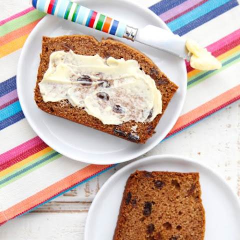 Cinnamon Raisin Quick Bread from 100 Days of Real Food