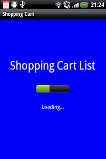 Shopping Cart List - screenshot