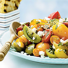 Heirloom Tomato Salad with Herbs and Capers