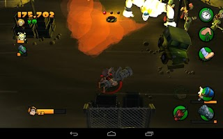 Screenshot of Burn Zombie Burn