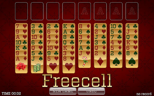 Christmas Solitaire - screenshot