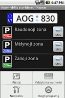 Screenshot of Parking Lithuania