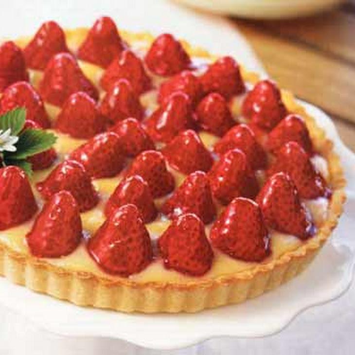 Strawberry-Lemon Curd Tart Recipe   Yummly