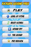 Screenshot of Kickups Legend Free - Tapups