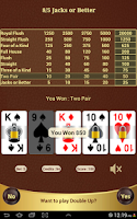 Screenshot of 8/5 Jacks or Better Poker