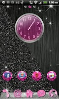 Screenshot of Go Launcher Pink Cheetah theme