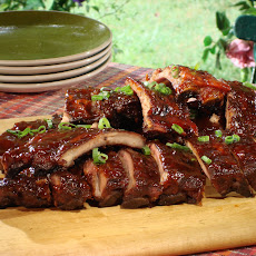 Sweet and Spicy Asian Barbecued Ribs