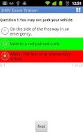 Screenshot of DMV California
