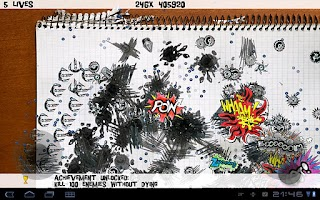 Screenshot of SketchWars HD