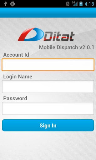 Ditat Mobile Dispatch