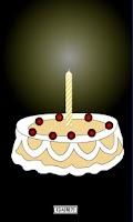 Screenshot of Happy Birthday Cake