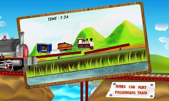 Screenshot of Bridge The Train - Kids Game