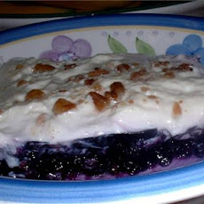 Blueberry Cream Cheese Salad