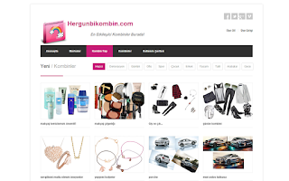 Screenshot of Hergunbikombin.com