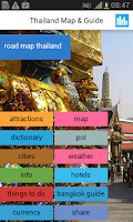 Screenshot of Thailand Offline Map