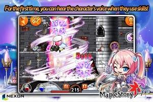 Screenshot of MapleStory Live