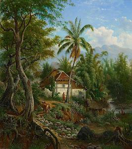 RIJKS: Maurits E.H.R. van den Kerkhoff: painting 1900