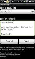 Screenshot of SMS Monkey