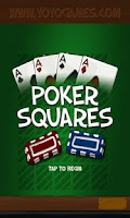 Screenshot of Simply Poker Squares Free