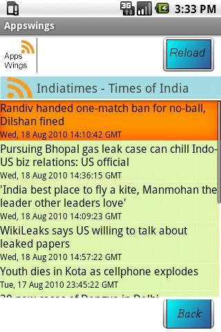Appswings RSS