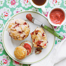 Strawberry-Lemonade Muffins