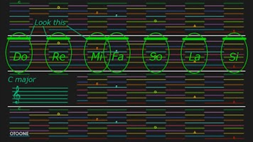 Screenshot of OTOONE (synthesizer)