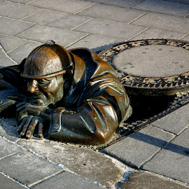 The man from down under by Benny Berget - Buildings & Architecture Statues & Monuments