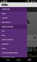 Screenshot of Radio 538
