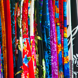 Hawaiian Fabric by Keith Sutherland - Artistic Objects Clothing & Accessories ( fabric, hawaii )