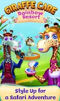 Screenshot of Giraffe Care - Rainbow Resort