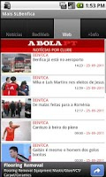 Screenshot of Mais SL Benfica