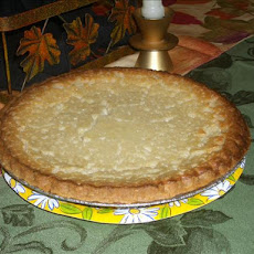 Cardamom Buttermilk Pie