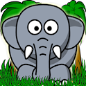 Jungle Animal Memory for Kids icon