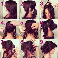 Screenshot of Easy Hairstyles