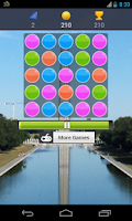 Screenshot of bubbles game
