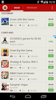 Screenshot of AppSales. Best Apps on Sale