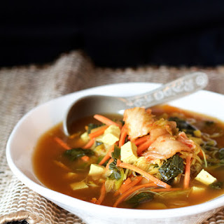 Asian Vegetable Soup With Tofu Recipes