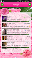 Screenshot of GO SMS - Flower Beauty 3