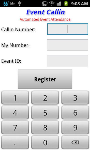 Check In Help - Event Callin