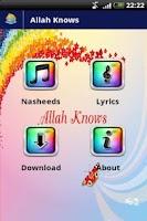 Screenshot of Zain Bhikha - Allah Knows