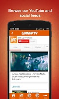 Screenshot of Link Up TV - Free Mixtapes App