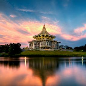 DUN Sarawak by Stuart Rango - Buildings & Architecture Architectural Detail