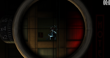 Screenshot of Mobster War HD 3D Sniper Game