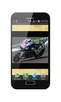 Screenshot of Wallpaper Live Super Bikes GP