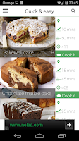 Screenshot of 100 cakes & bakes recipes