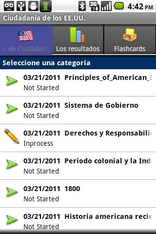 IN SPANISH -US Exam and Prep
